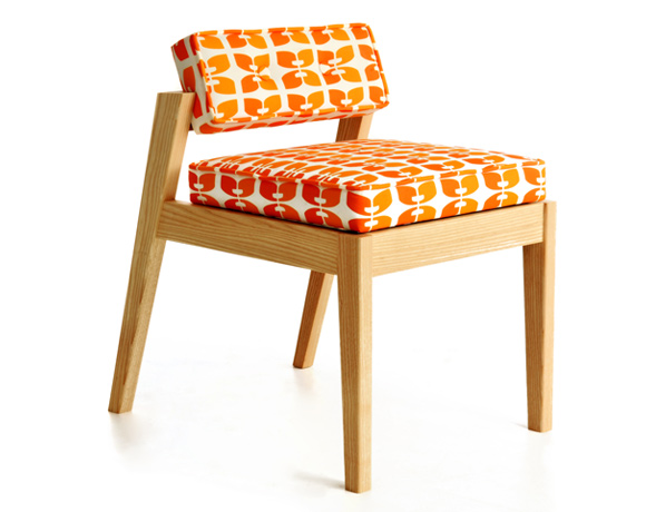 Beacon Lounge Chair Contemporary Handmade Wooden Lounge